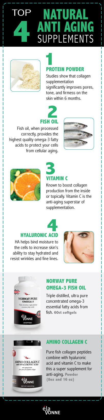 4 natural supplements anti aging