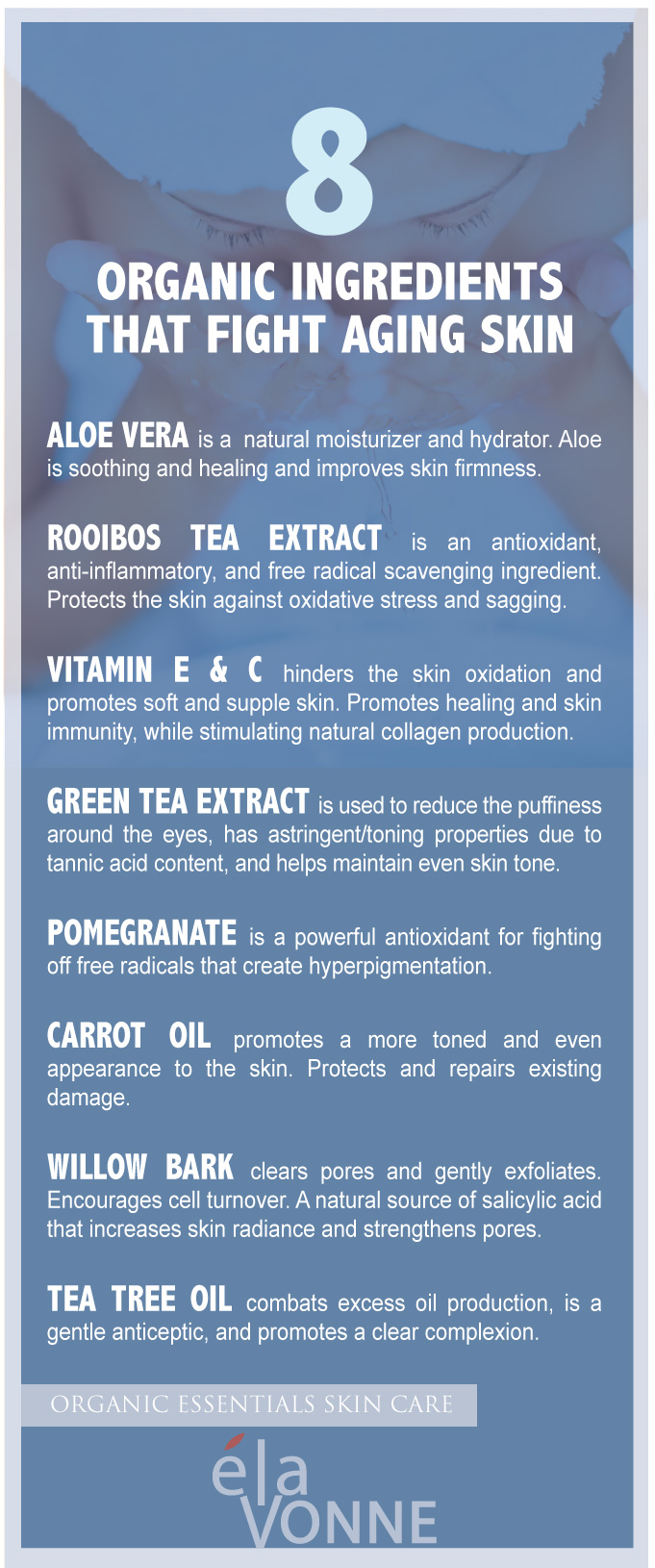 organic ingredients for aging