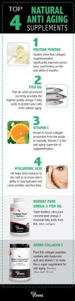 top 4 anti aging foods