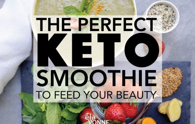 The Perfect Keto Smoothie